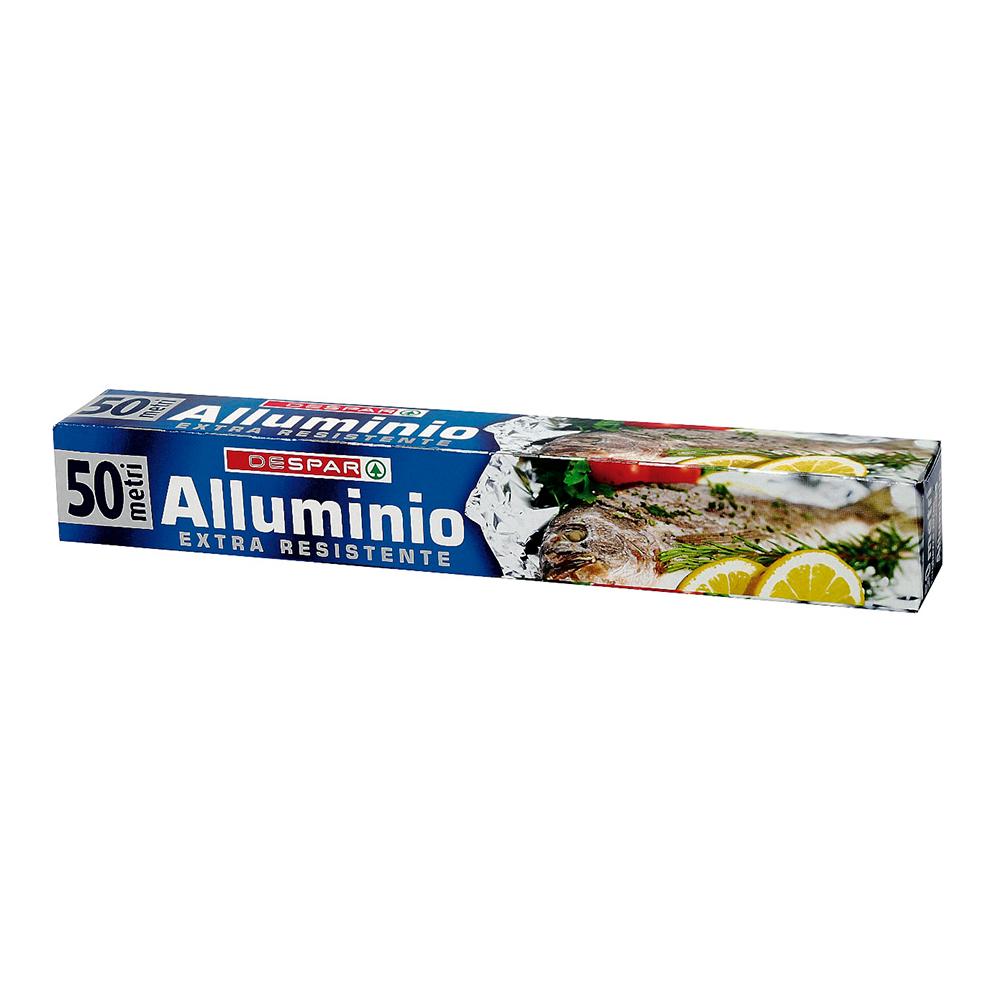 Rotolo alluminio 50 metri linea prodotti a marchio Despar, Despar Italia
