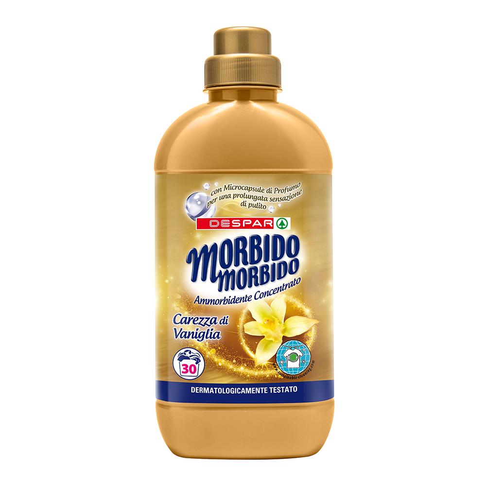 Ammorbidente morbido morbido carezza di vaniglia 750 ml linea prodotti a marchio Despar, Despar Italia