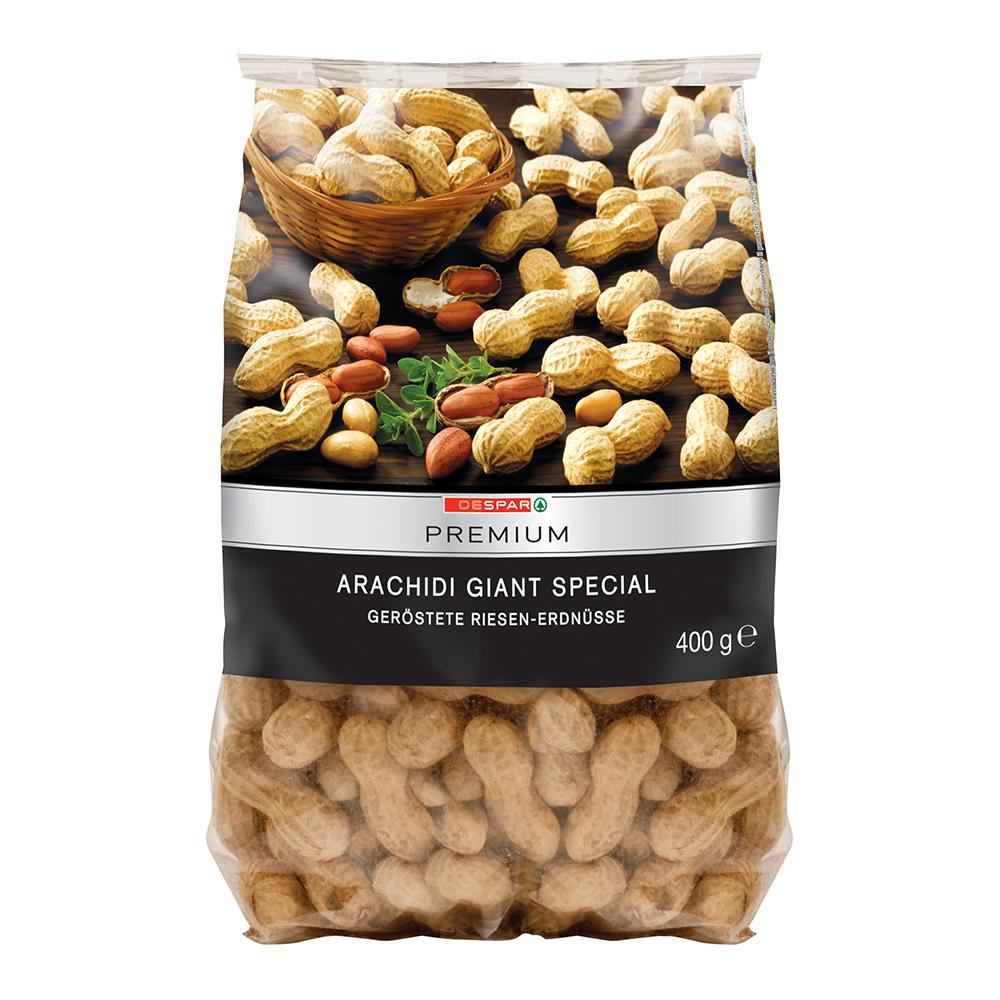 Arachidi linea prodotti a marchio Despar Premium, Despar Italia