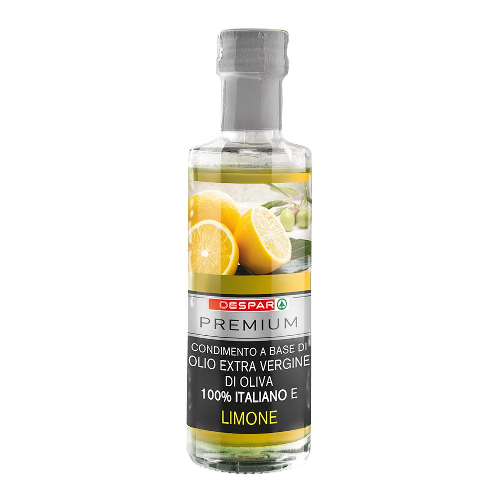 Condimento a base di olio extravergine di oliva e limone linea prodotti a marchio Despar Premium, Despar Italia