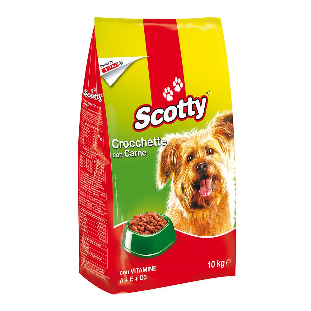 Crocchette con carne linea prodotti a marchio Despar Scotty