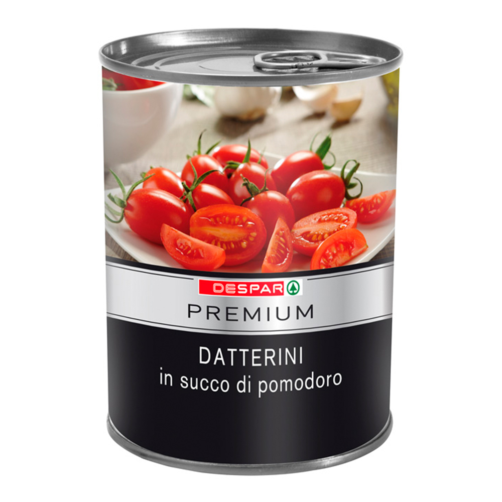 Datteini linea prodotti a marchio Despar Premium, Despar Italia