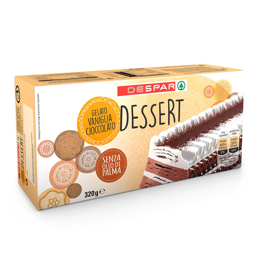 Dessert vaniglia cioccolato linea prodotti a marchio Despar, Despar Italia