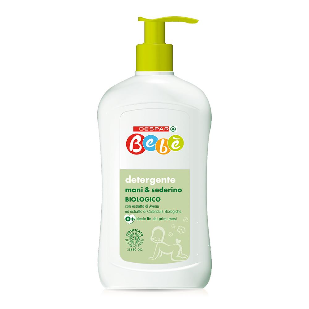 Detergente mani & sederino linea prodotti a marchio Despar Bebè