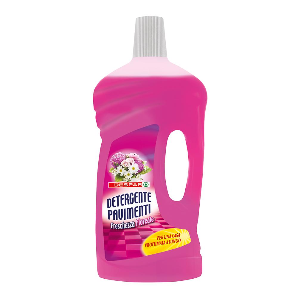 Detergente per pavimenti freschezza floreale linea prodotti a marchio Despar, Despar Italia