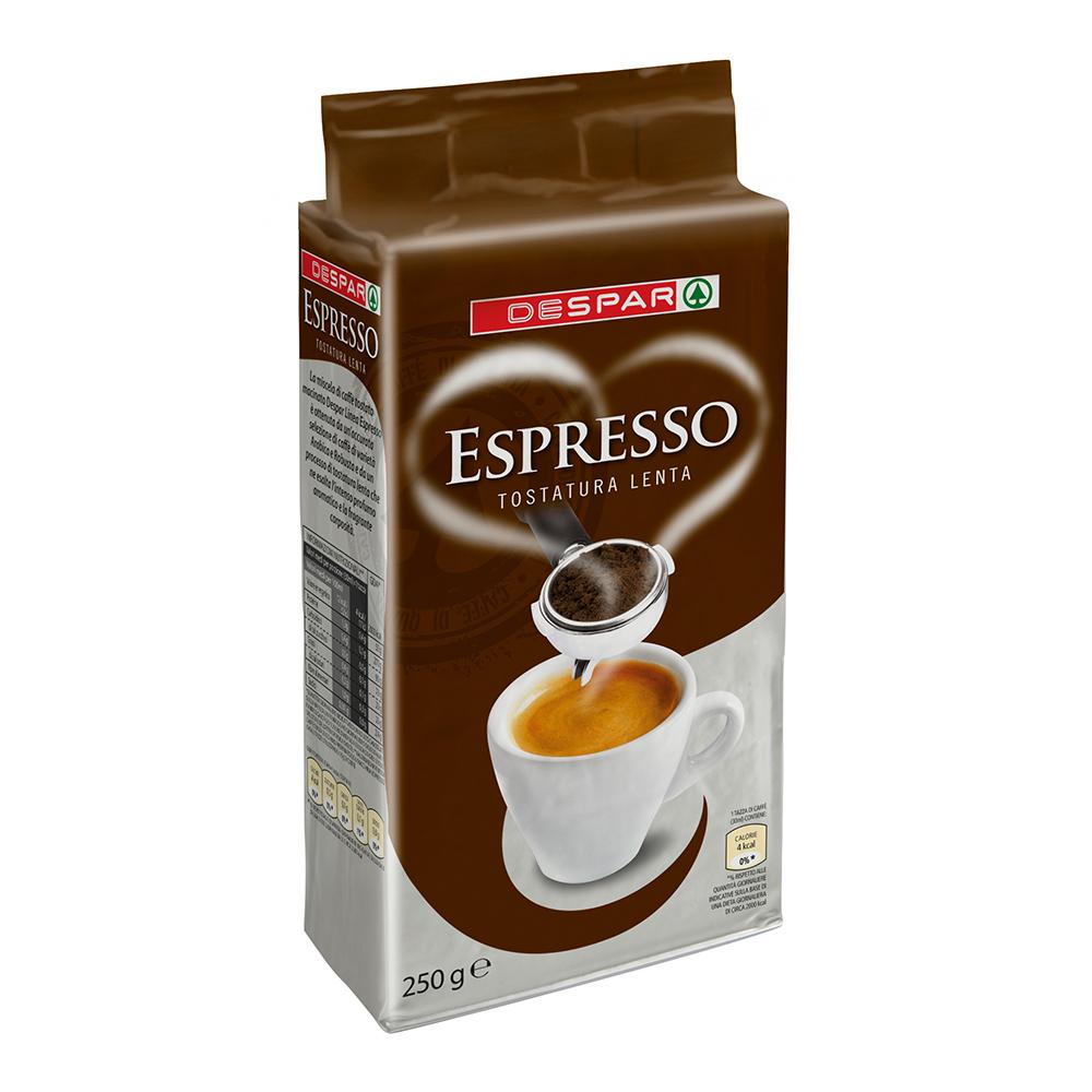 Espresso linea prodotti a marchio Despar, Despar Italia