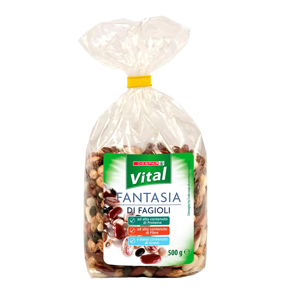 Fantasia di fagioli linea prodotti a marchio Despar Vital