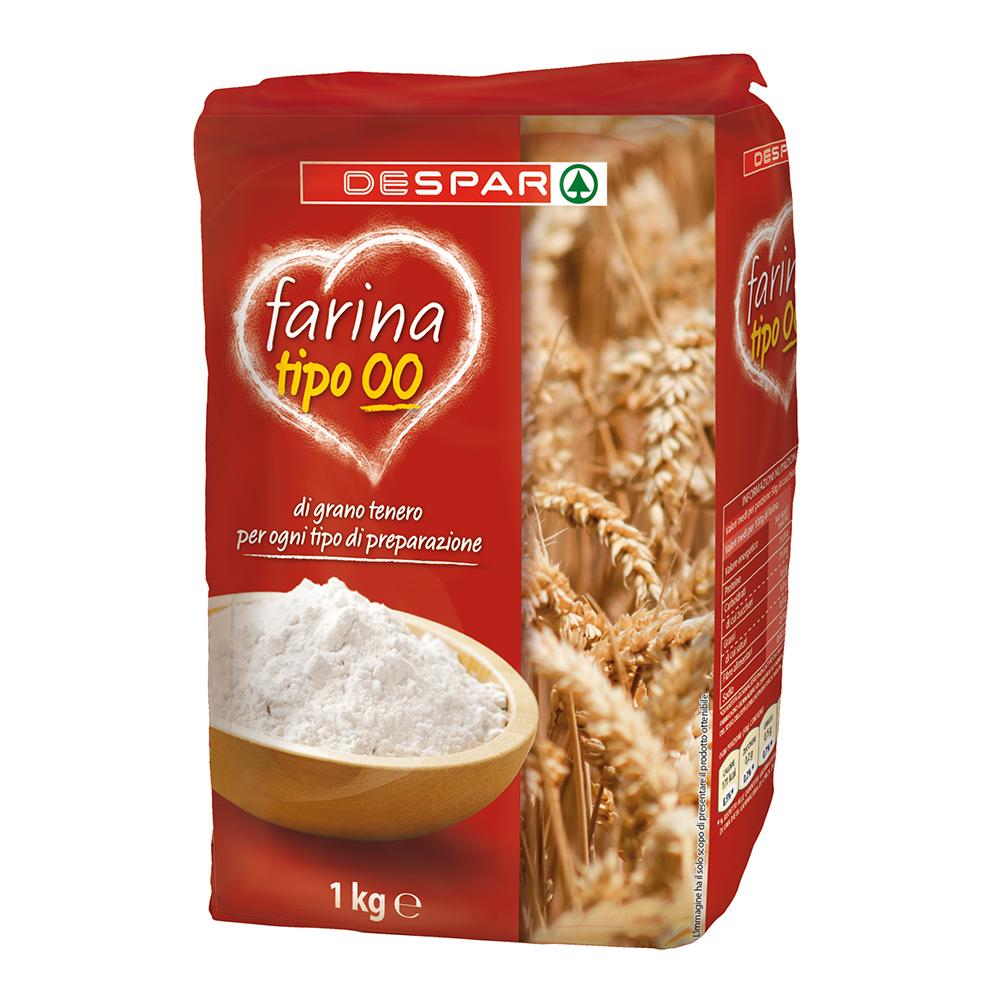 Farina tipo OO linea prodotti a marchio Despar, Despar Italia