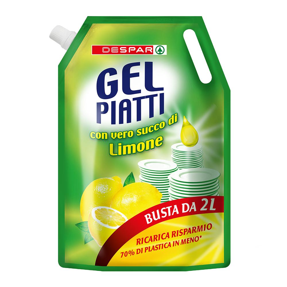 Gel piatti in busta linea prodotti a marchio Despar, Despar Italia
