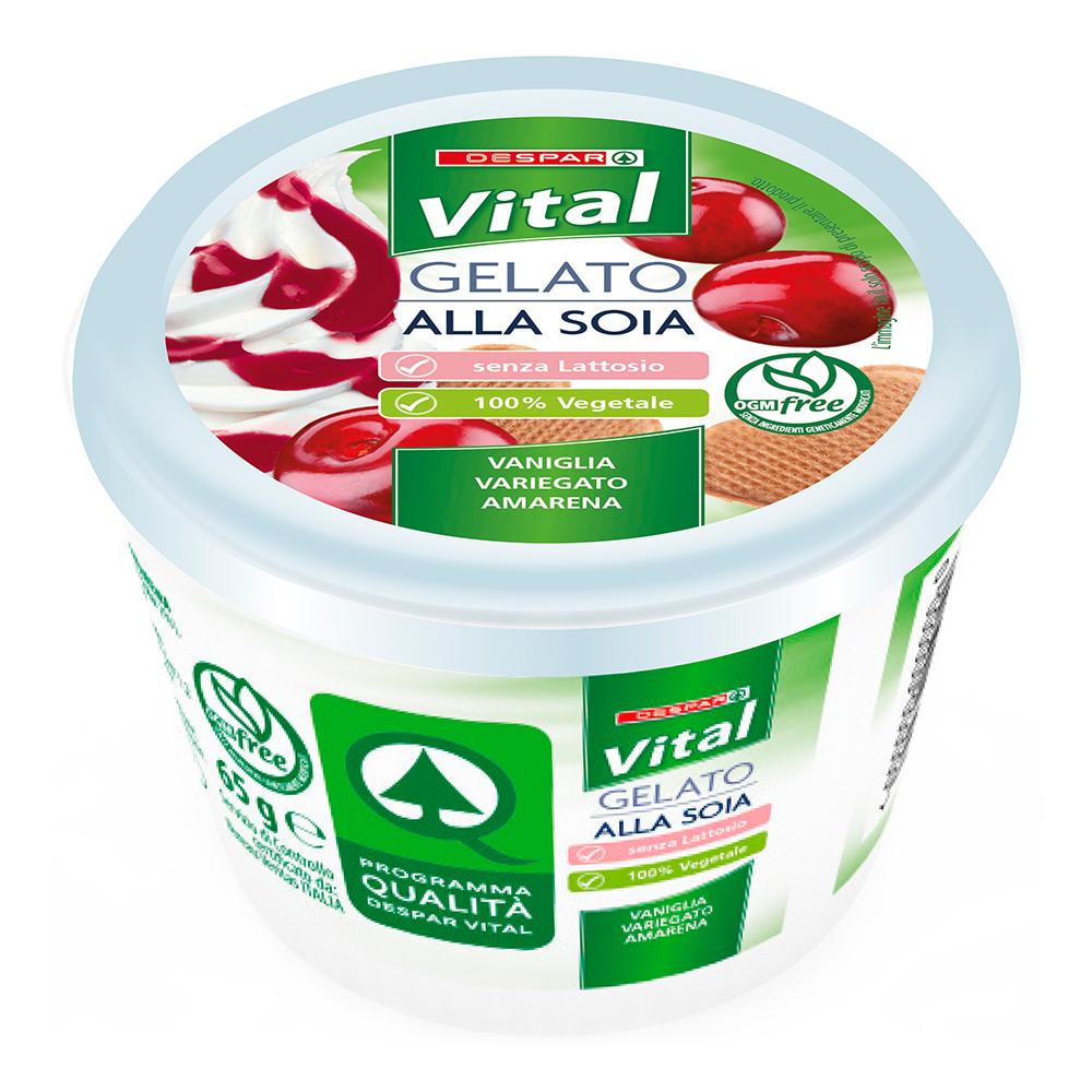 Gelato alla soia 65 g linea prodotti a marchio Despar Vital
