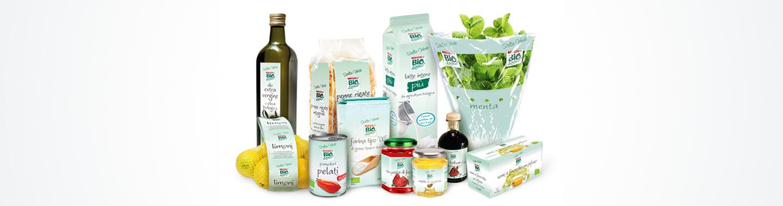 Selezione dei prodotti Scelta Verde Bio,logico Despar Italia