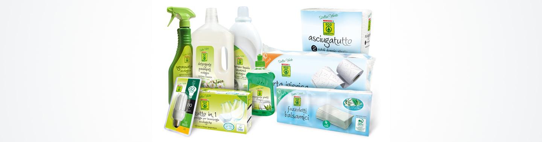 Assortimento dei prodotti Scelta Verde Eco Rispetto Despar Italia