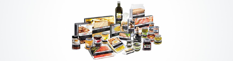Selezione di prodotti linea a marchio Despar Premium