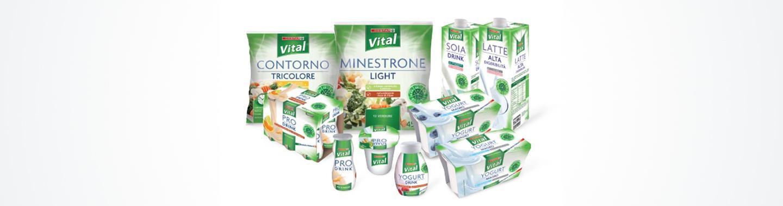 Assortimento dei prodotti a marchio Despar Vital, Despar Italia