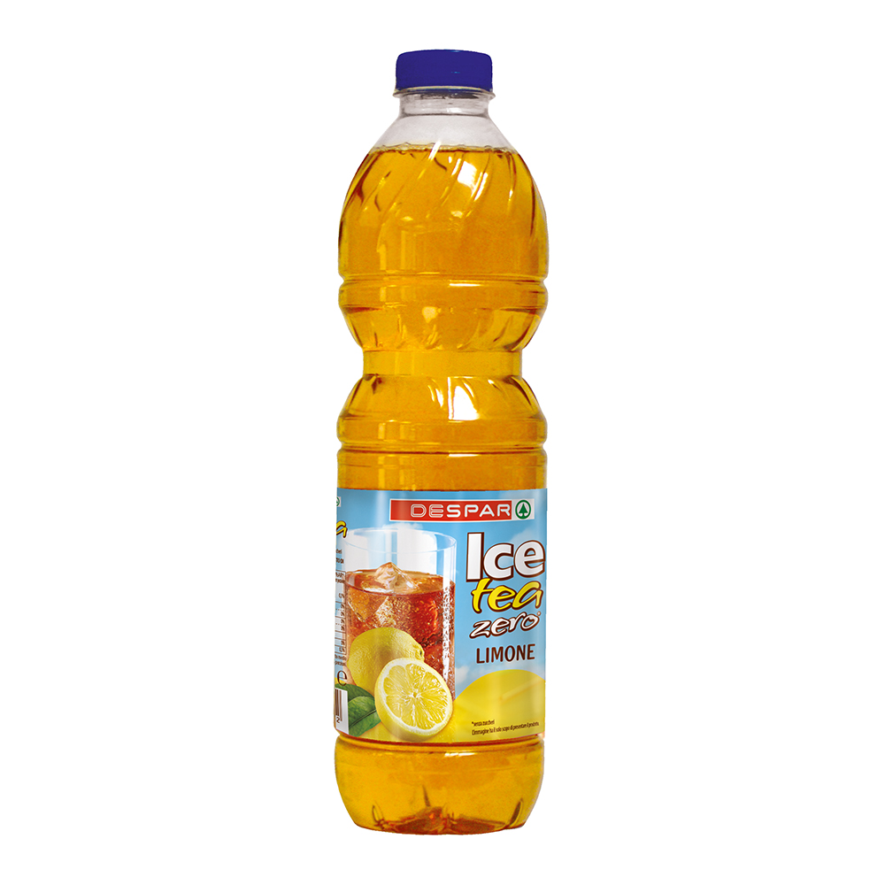 Ice tea zero limone linea prodotti a marchio Despar, Despar Italia