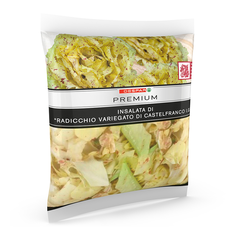 Insalata di radicchio variegato di Castelfranco IGP linea prodotti a marchio Despar Premium, Despar Italia