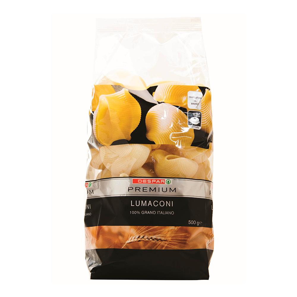 Lumaconi pasta linea prodotti a marchio Despar Premium, Despar Italia