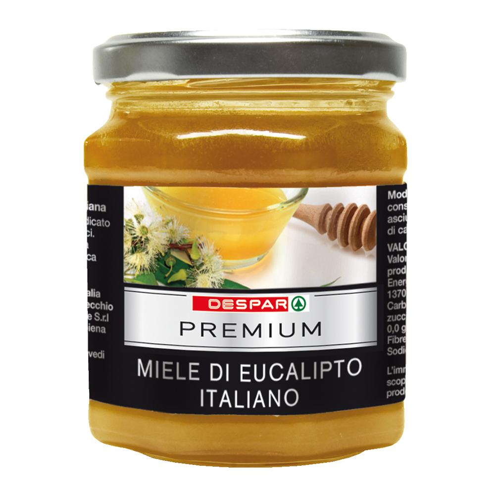 Miele di eucalipto italiano linea prodotti a marchio Despar Premium, Despar Italia