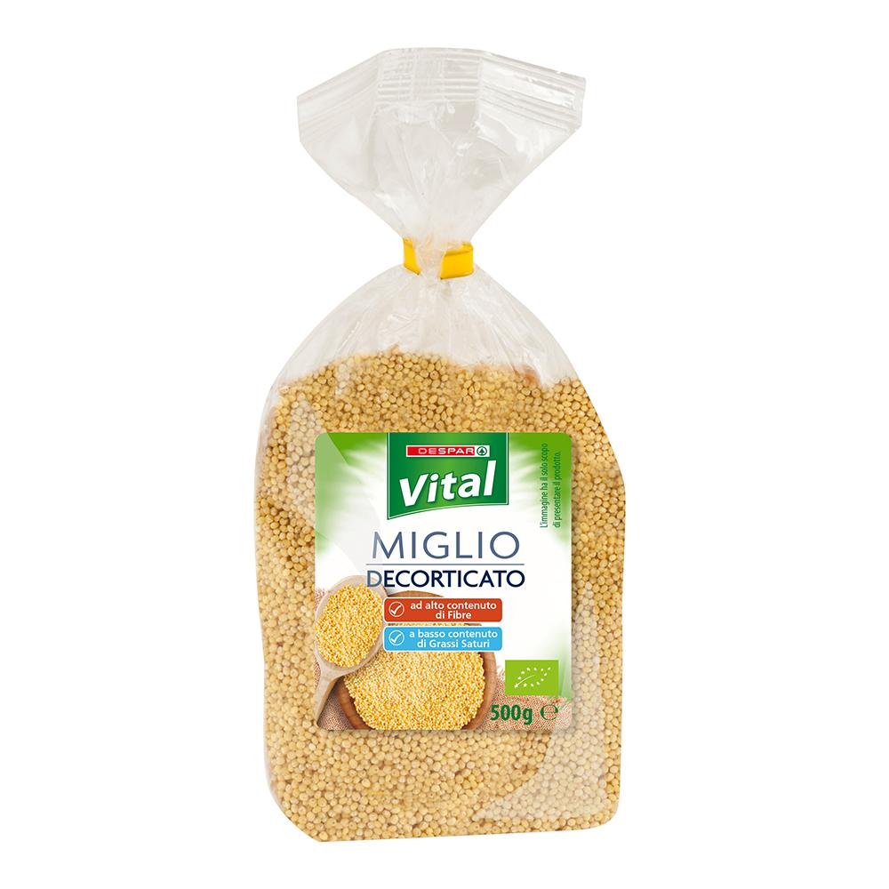Miglio decorticato 500 g linea prodotti a marchio Despar Vital