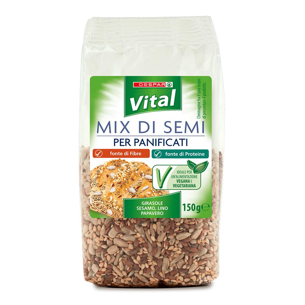 Mix di semi per panificati linea prodotti a marchio Despar Vital