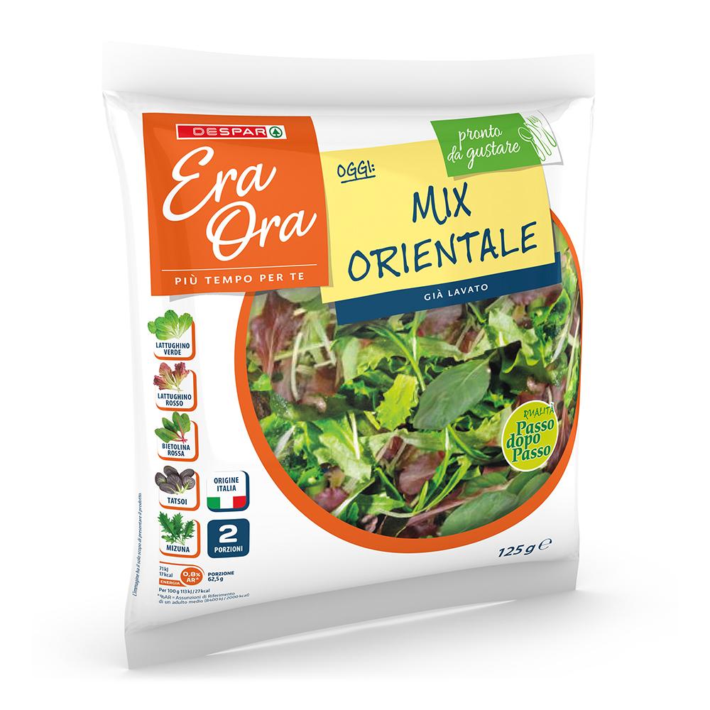 Mix orientale linea prodotti a marchio Despar Era Ora, Despar Italia