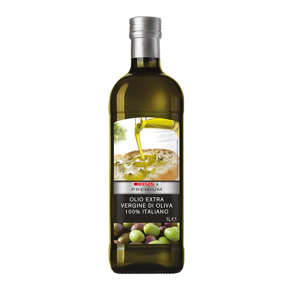 Olio extravergine di oliva italiano linea prodotti a marchio Despar Premium, Despar Italia