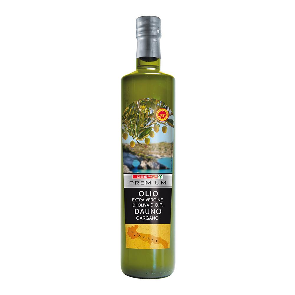 Olio extravergine di oliva Dauno linea prodotti a marchio Despar Premium, Despar Italia
