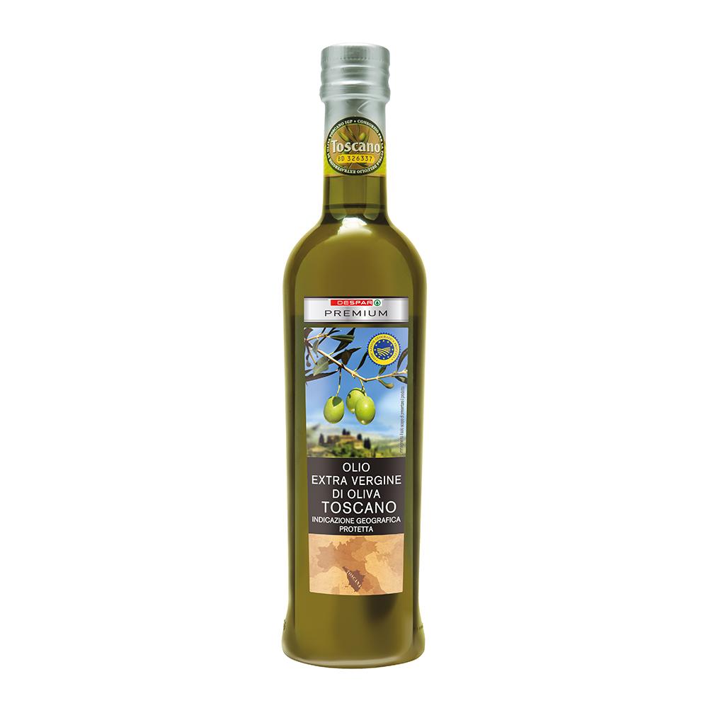Olio extra vergine di oliva toscano linea prodotti a marchio Despar Premium, Despar Italia