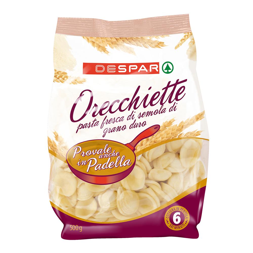 Orecchiette di semola di grano duro linea prodotti a marchio Despar, Despar Italia