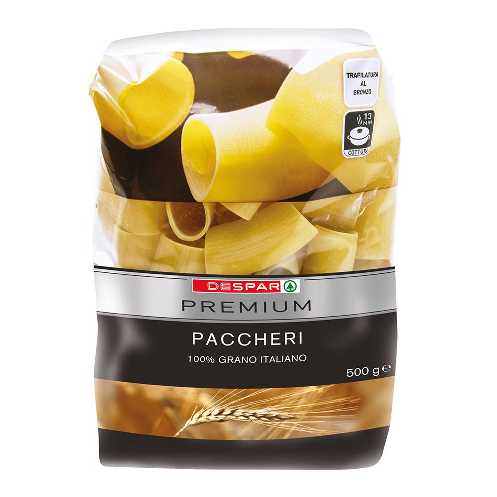 Paccheri linea prodotti a marchio Despar Premium, Despar Italia
