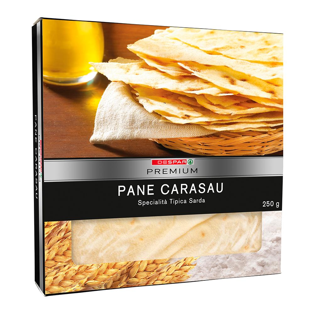 Pane carasau linea prodotti a marchio Despar Premium, Despar Italia
