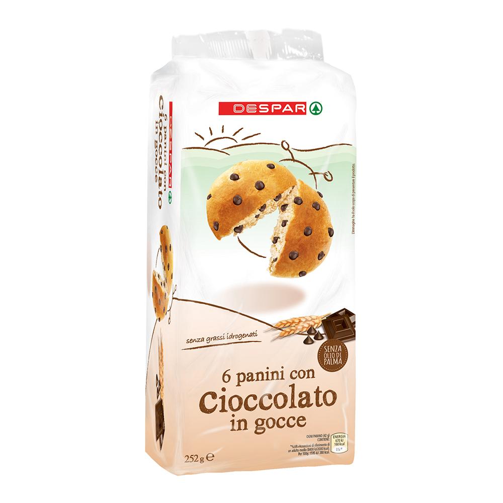 Panini al cioccolato linea prodotti a marchio Despar, Despar Italia
