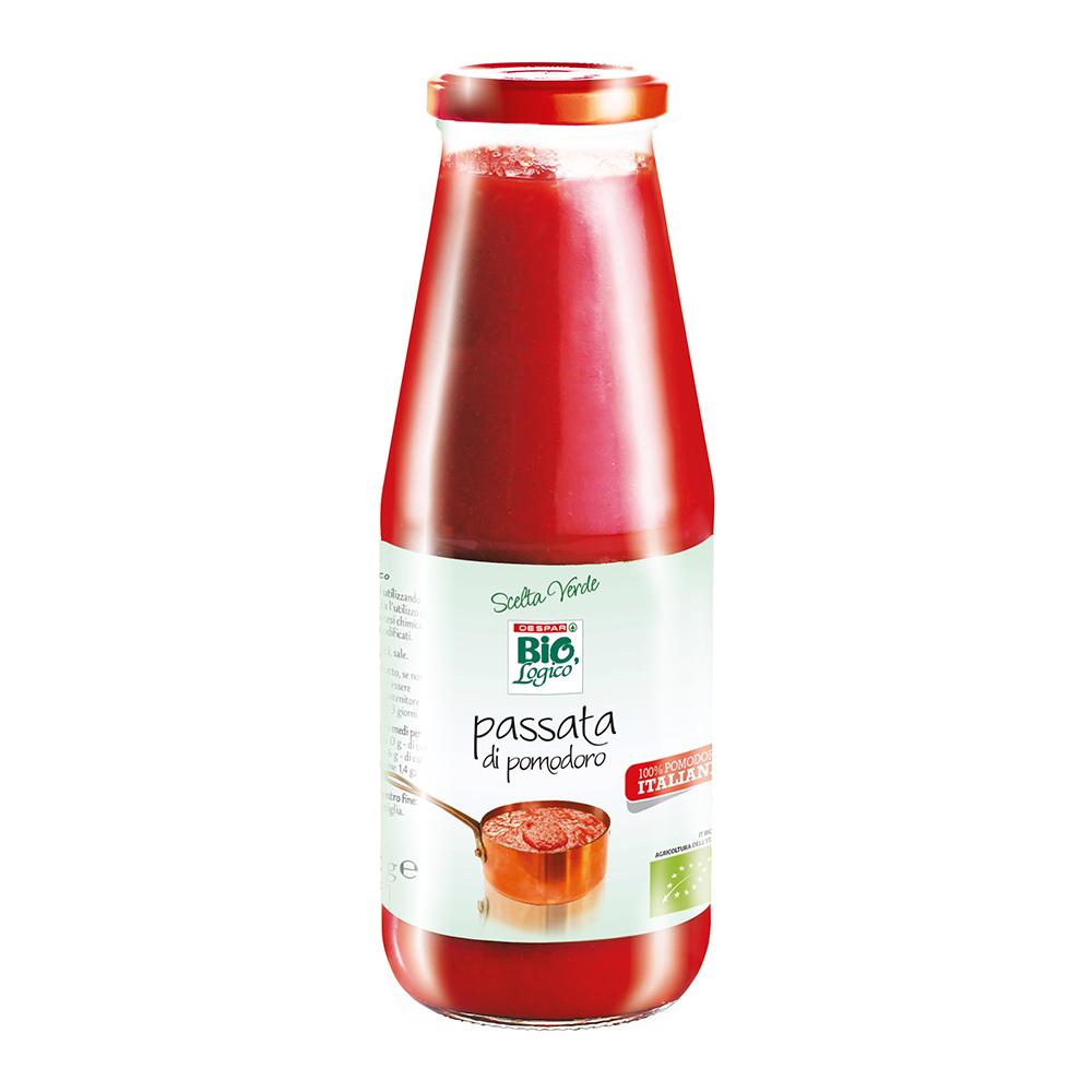 passata di pomodoro 500 g linea prodotti a marchio Despar Bio,Logico