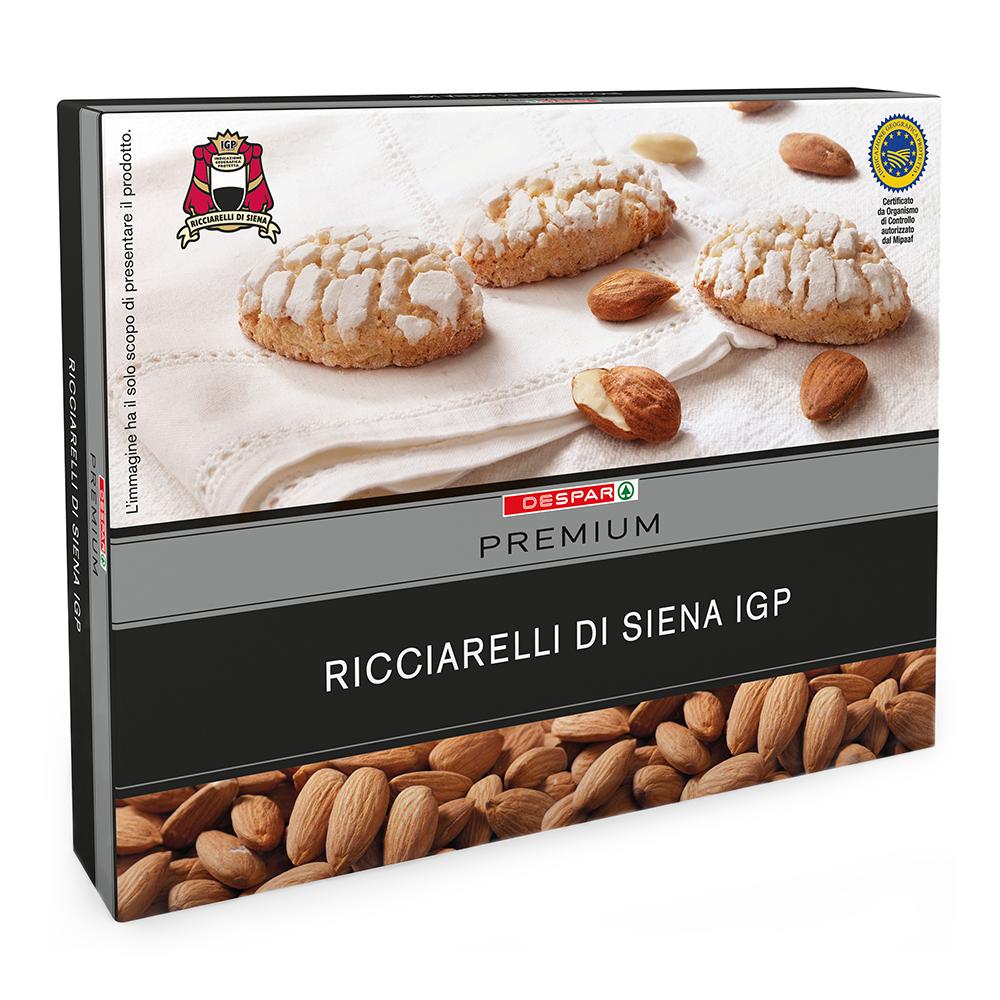 Ricciarelli di Siena IGP linea prodotti a marchio Despar Premium, Despar Italia