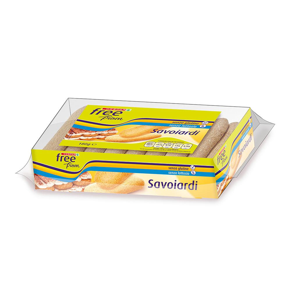 Savoiardi senza glutine senza lattosio linea prodotti a marchio Despar Free From