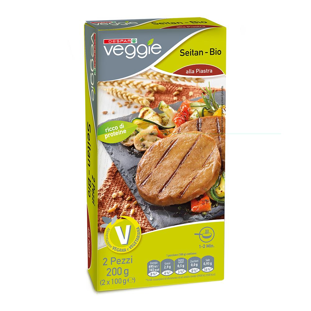 Seitan linea prodotti a marchio Despar Veggie
