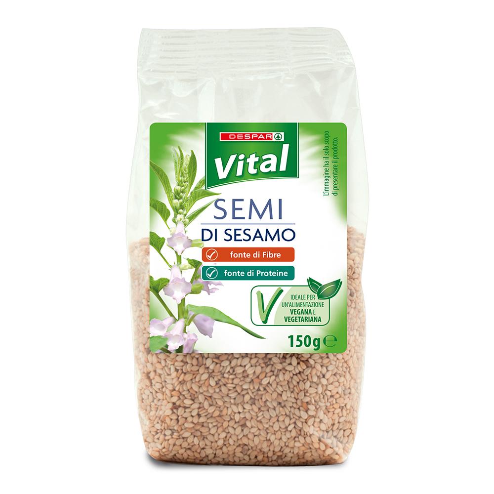 Semi di sesamo linea prodotti a marchio Despar Vital