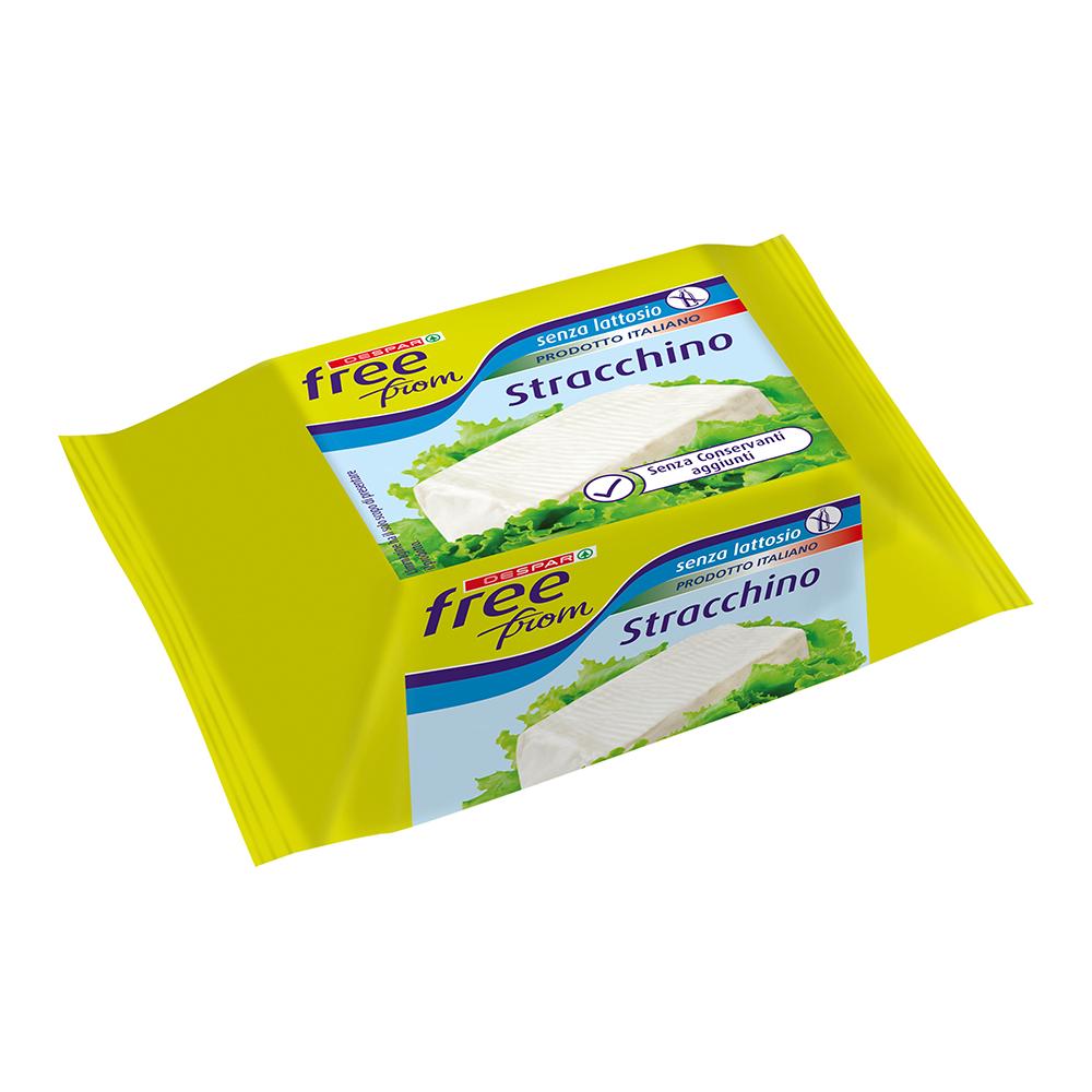 Stracchino senza lattosio linea prodotti a marchio Despar Free From