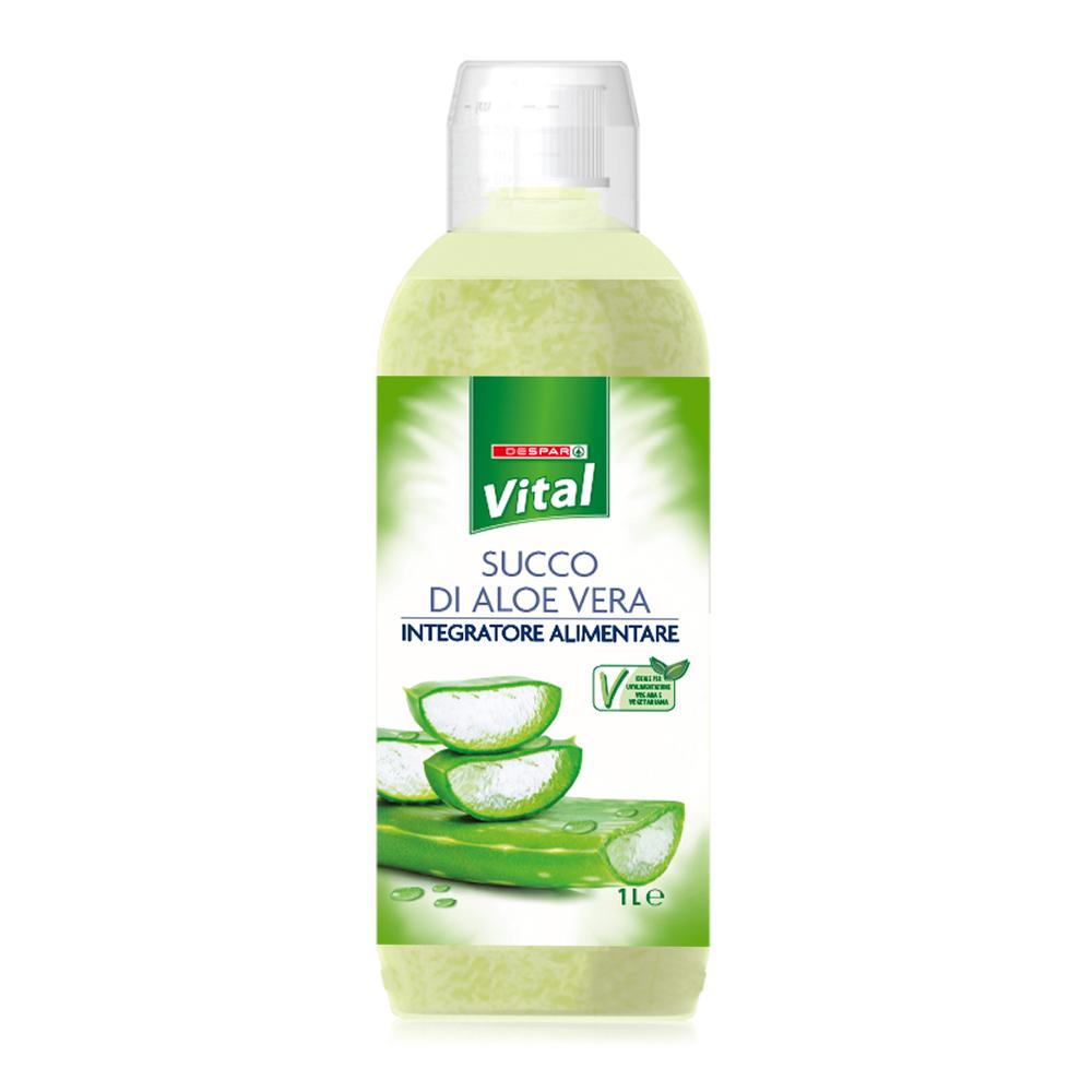 Succo di aloe vera linea prodotti a marchio Despar Vital