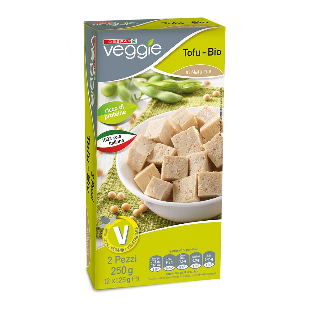 Tofu linea prodotti a marchio Despar Veggie