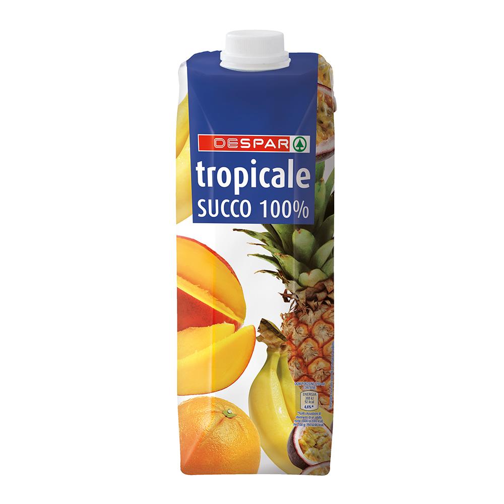 Succo tropicale linea prodotti a marchio Despar, Despar Italia