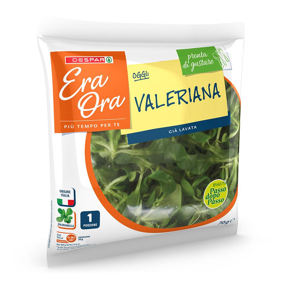 Valeriana linea prodotti a marchio Despar Era Ora, Despar Italia