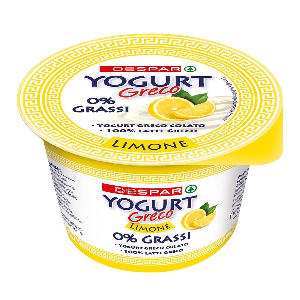 Yogurt greco al limone linea prodotti a marchio Despar, Despar Italia
