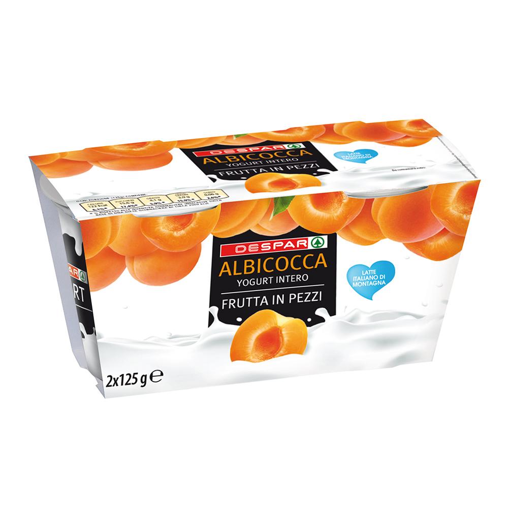 Yogurt all'albicocca linea prodotti a marchio Despar, Despar Italia