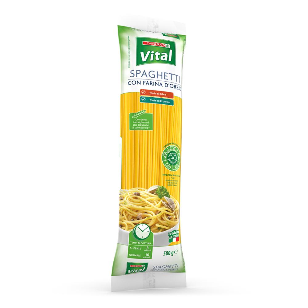 Spaghetti con farina d'orzo 500 g linea prodotti a marchio Despar Vital