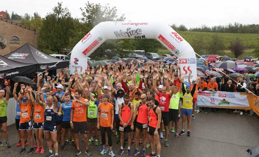 Wefree Run San Patrignano 2018, Despar Italia Sponsor